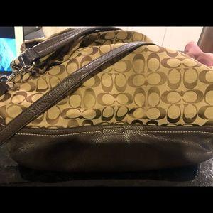 Coach crossbody/hobo purse